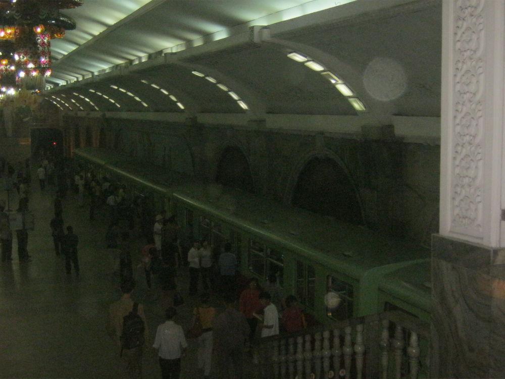 Korea del Nord DPKR - Pyongyang - metro
