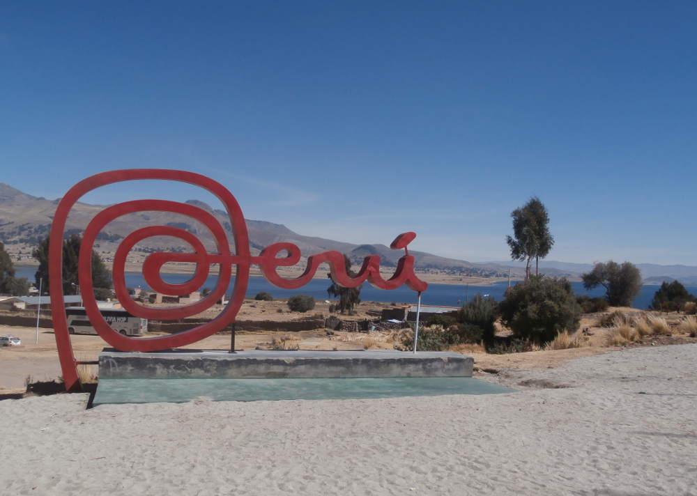 Peru - Bolivia border