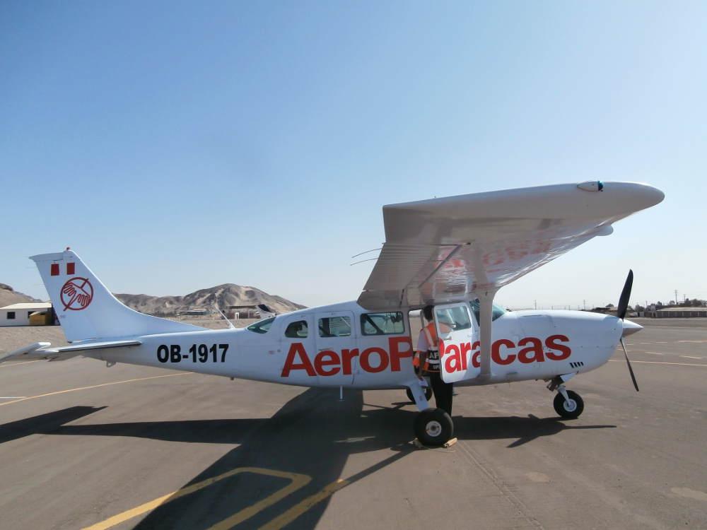 Perú - Líneas de Nazca - AeroParacas