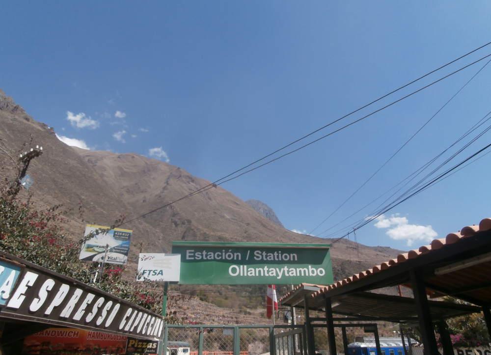 Peru - Ollantaytambo Station
