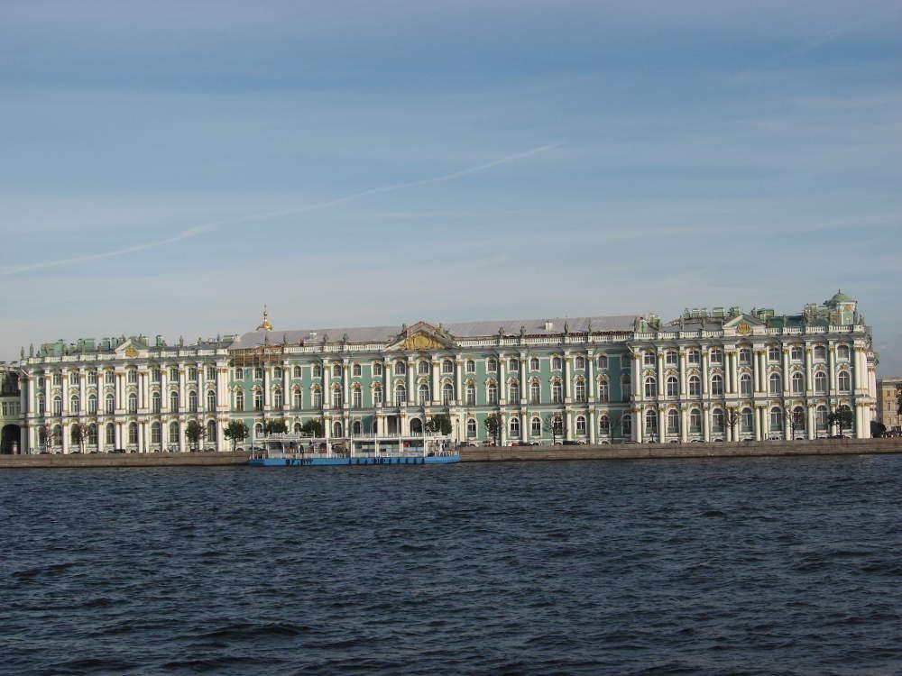 Rusia - Leningrado - El Palacio de Invierno