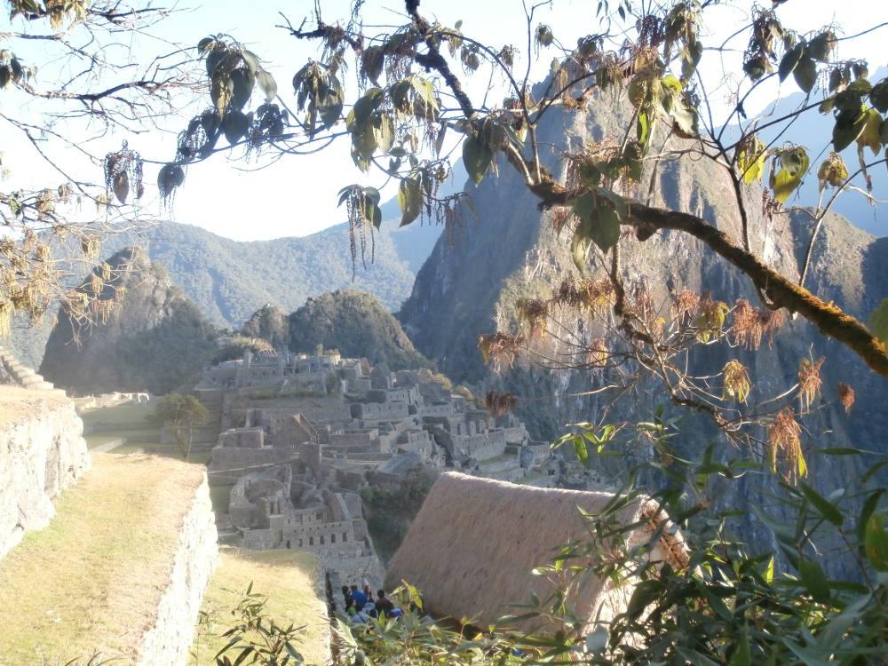 Peru - caretaker's hut Machu Picchu