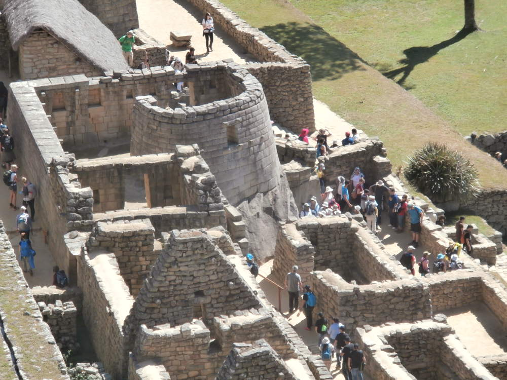 Peru - Machu Picchu - Temple of the Sun