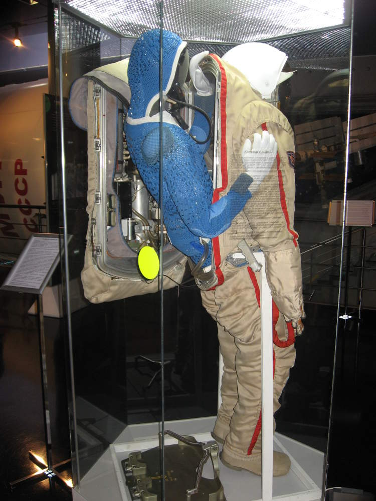 Rusia - Moscú - Museo de Cosmonautas