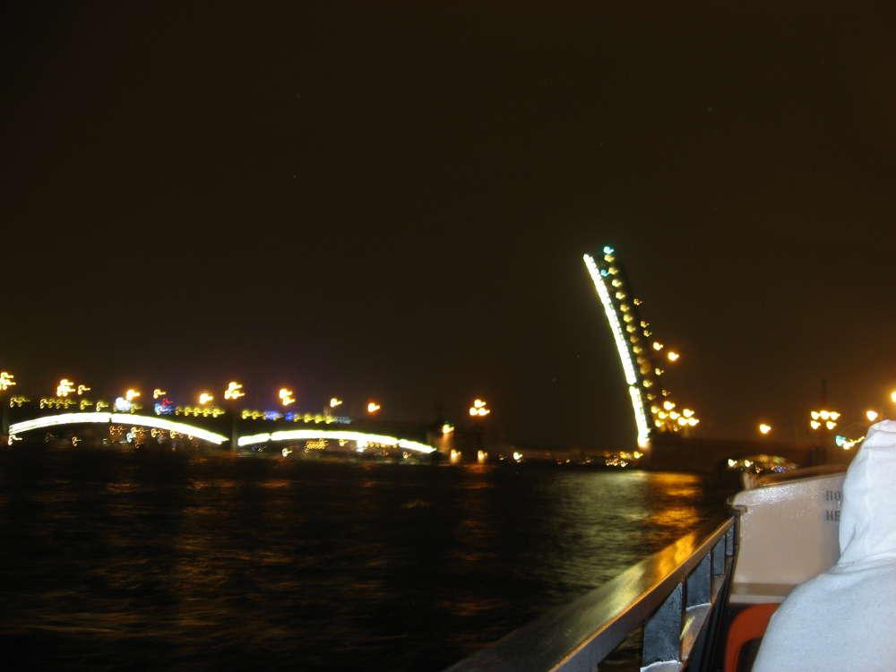 Rusia - Leningrado - Puentes sobre el Neva