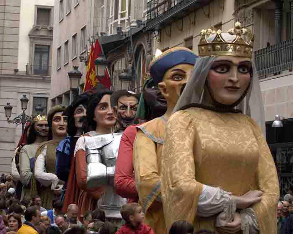 Basque Country - Iruña/Pamplona - San Firmin - Gigantes y Cabezudos