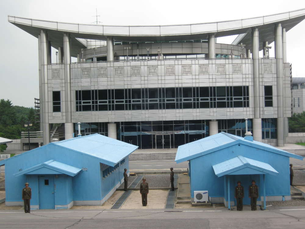 DPKR North Korea - Korean Demilitarized Zone DMZ 38th Parallel North