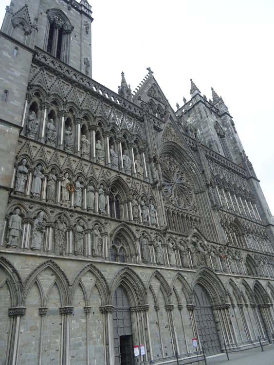 Norvegia - Trondheim - Cattedrale di Nidaros