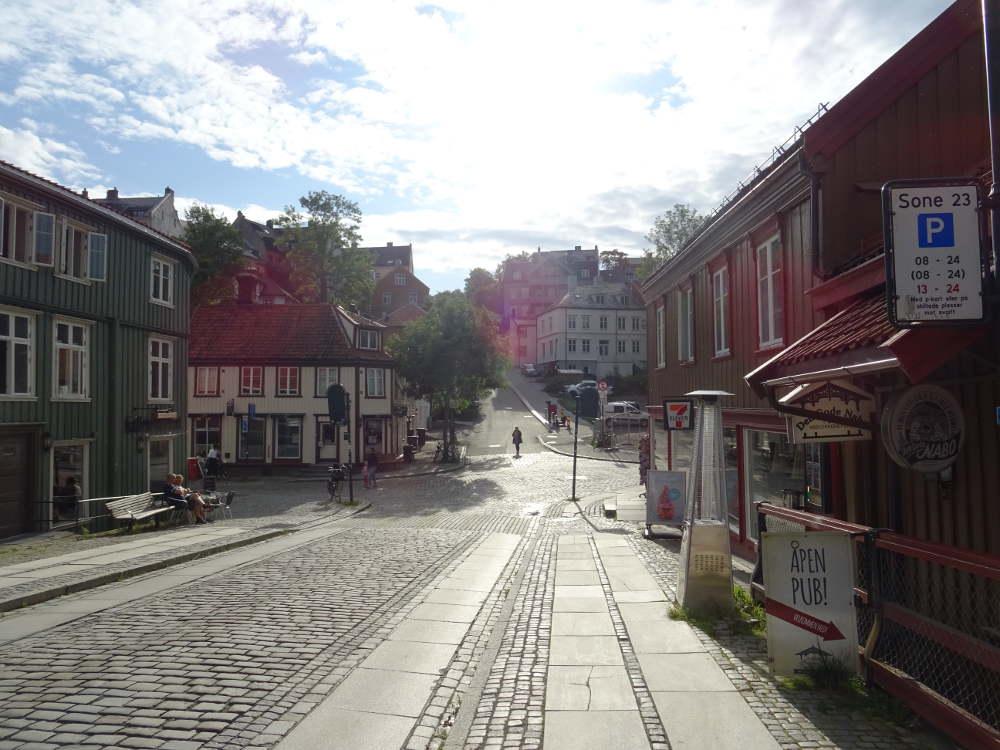 Norway - Trondheim - city rebuilt by Johan Caspar de Cicignon
