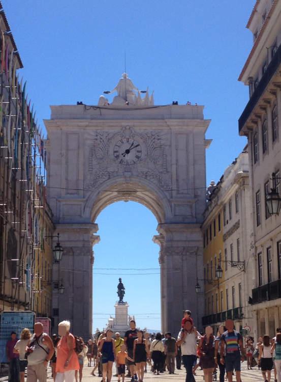 Portugal - Lisboa - Arco de Rua Augusta