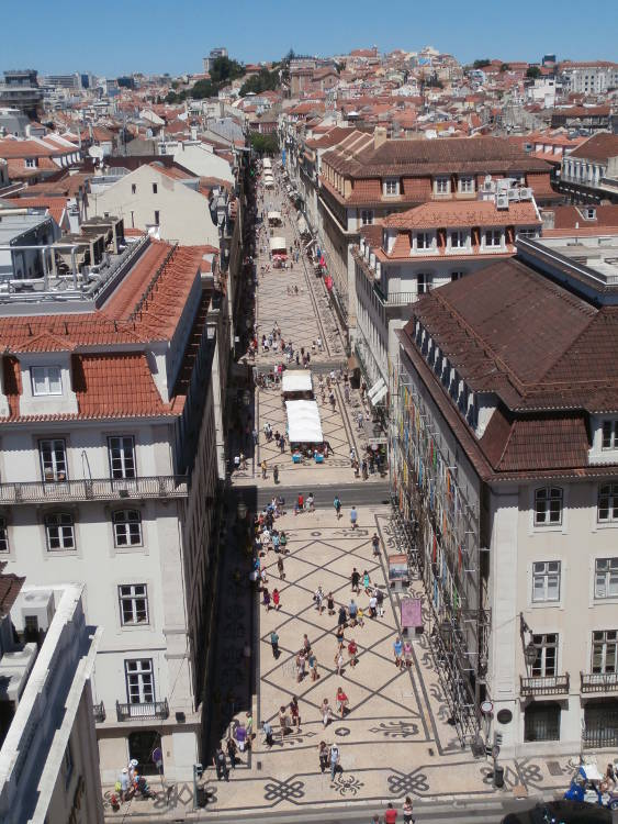 Portugal - Lisboa - Rua Augusta