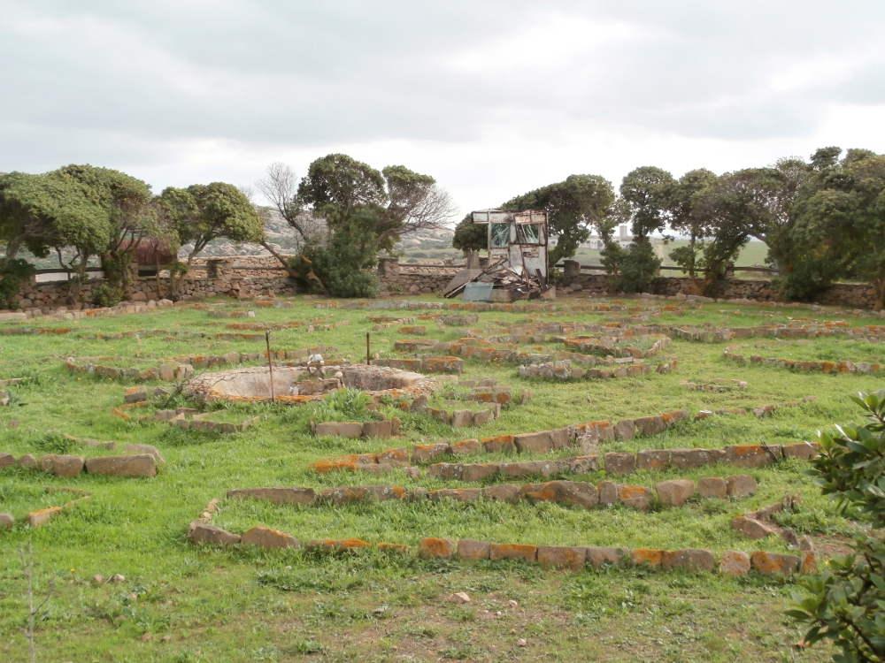 Cerdeña - Isla Asinara - Colonia penal agrícola