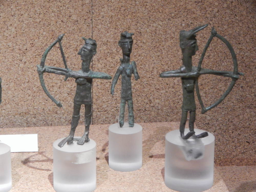 Sardinia - Shardana warriors - Nuragic bronzes Peoples of the Sea