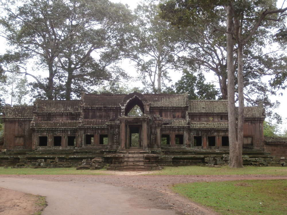 Cambodia - Angkor Wat - east gate