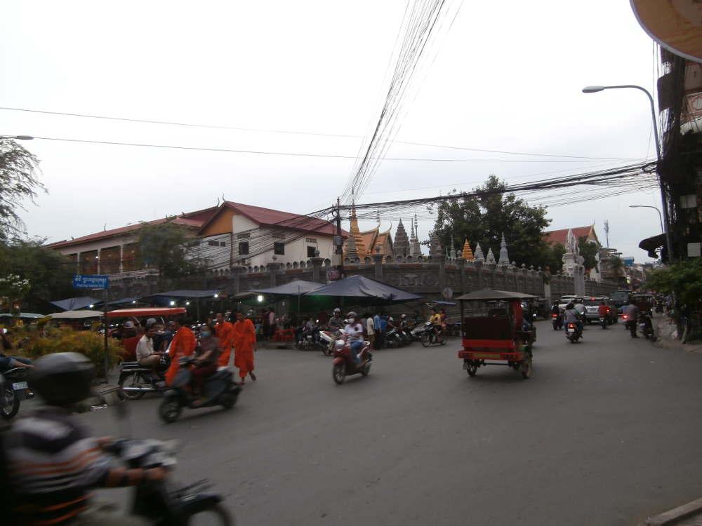 Cambodia - Phnom Phen street