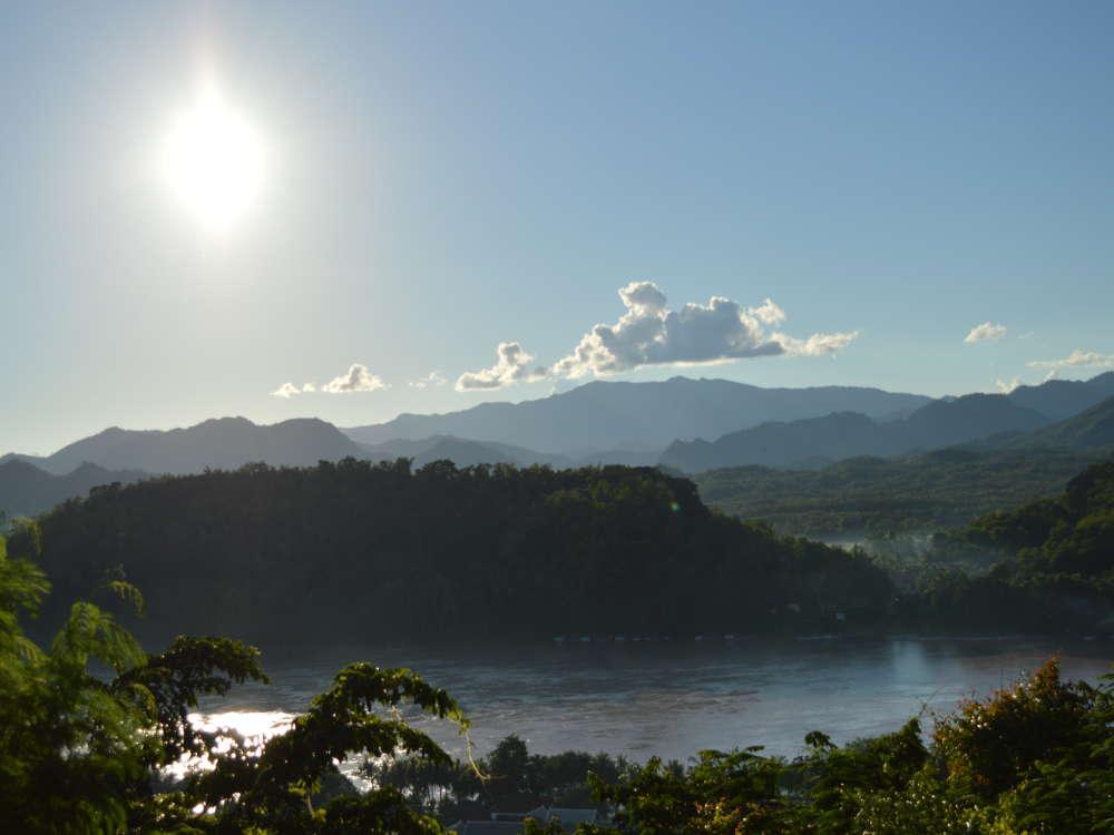 Laos - Luang Prabang - Mount Phousi