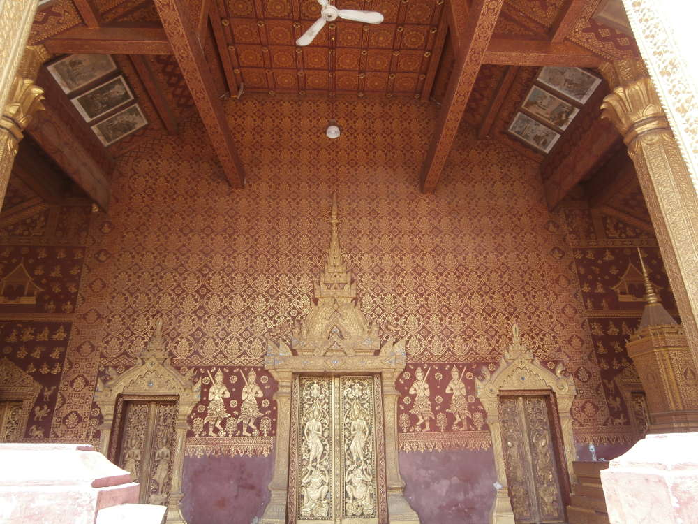 Laos - Luang Prabang - Vat Sop Sickharam