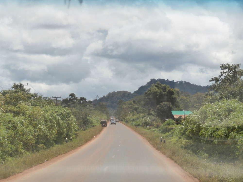 Laos - Paksong - road 16E