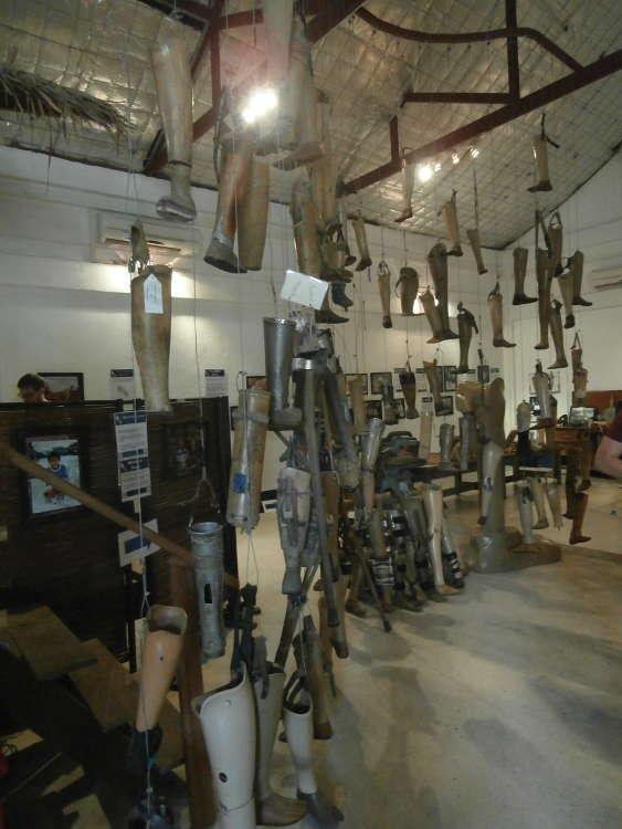 Laos - Vientiane - Cope Visitor Centre