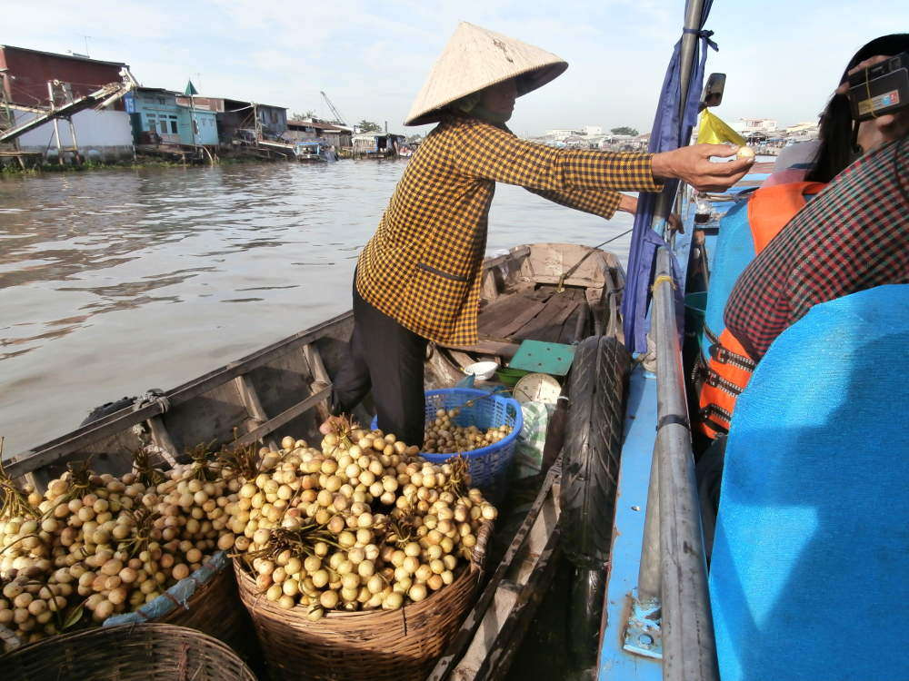 Vietnam - Can Tho - Mekong floating markets