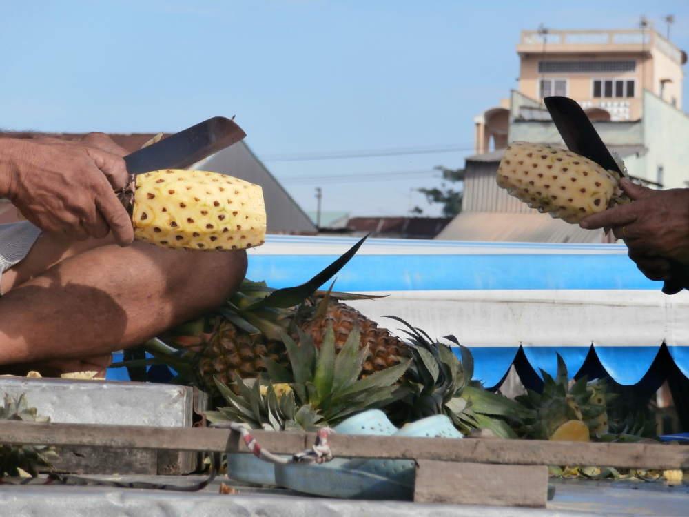 Vietnam - Can Tho - Mercados flotantes del Mekong