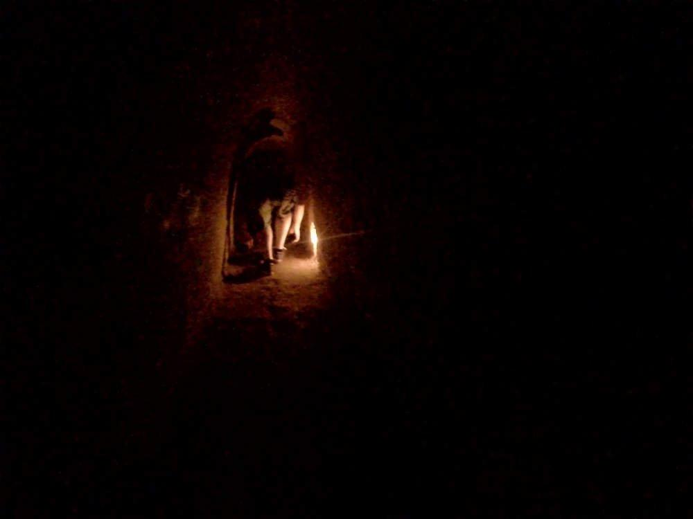 Vietnam - Cu Chi - dentro de los túneles