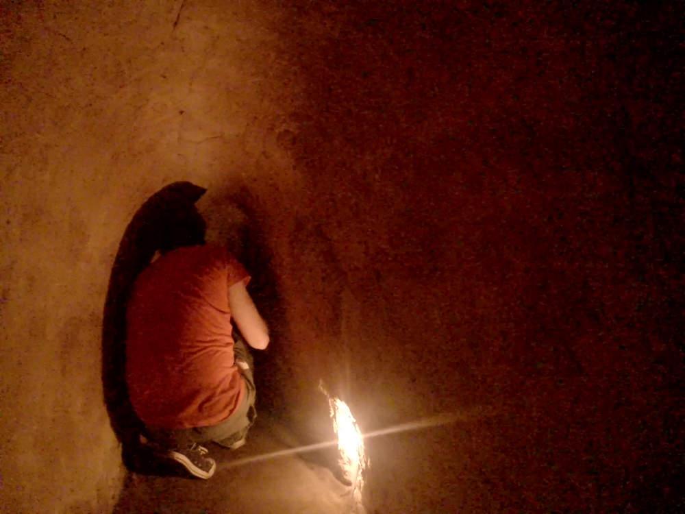 Vietnam - Cu Chi - inside the Vietcong tunnels