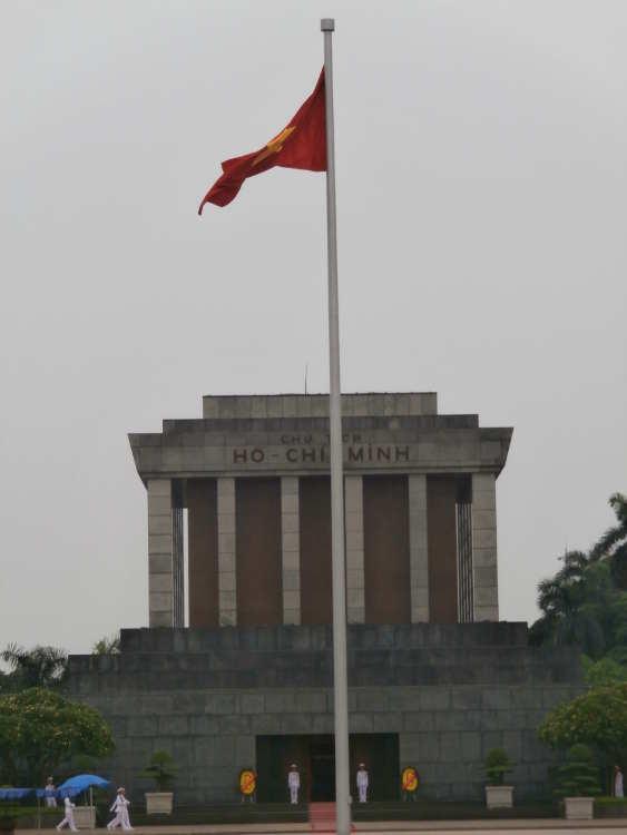 Vietnam - Hanoi - Uncle Ho Chi Minh Mausoleum