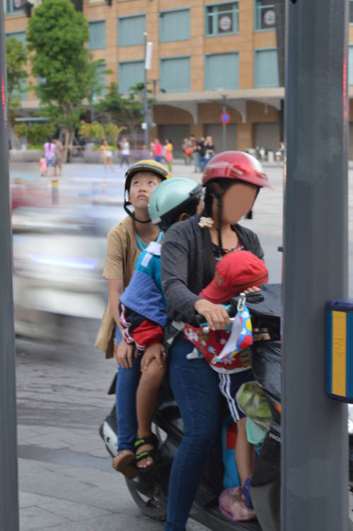 Vietnam - Ho Chi Minh City HCMC Saigon - 4 in scooter