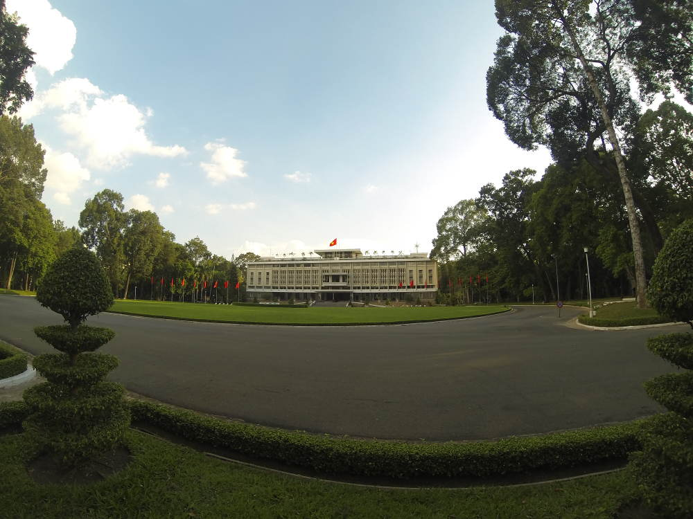 Vietnam - Ho Chi Minh City HCMC Saigon - Reunification Palace