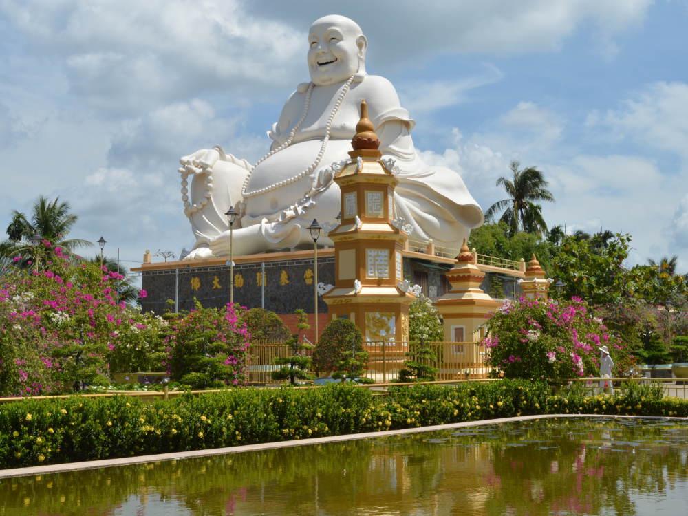 Vietnam - Mekong - My Tho - Templo de Vĩnh Tràng Chùa
