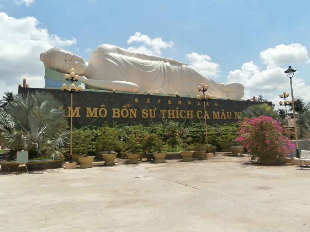 Vietnam - Mekong - My Tho - Temple of Vĩnh Tràng Chùa