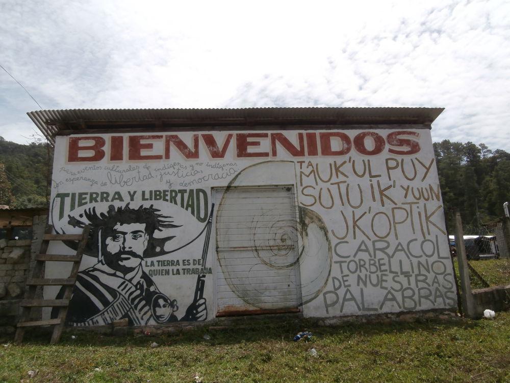 EZLN - Caracol Morelia - Bienvenido