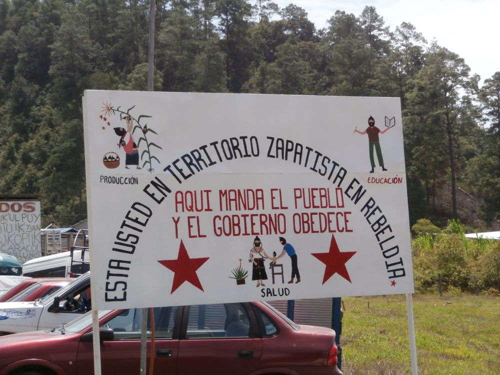 EZLN - Caracol Morelia - Territorio Zapatista en Rebeldia