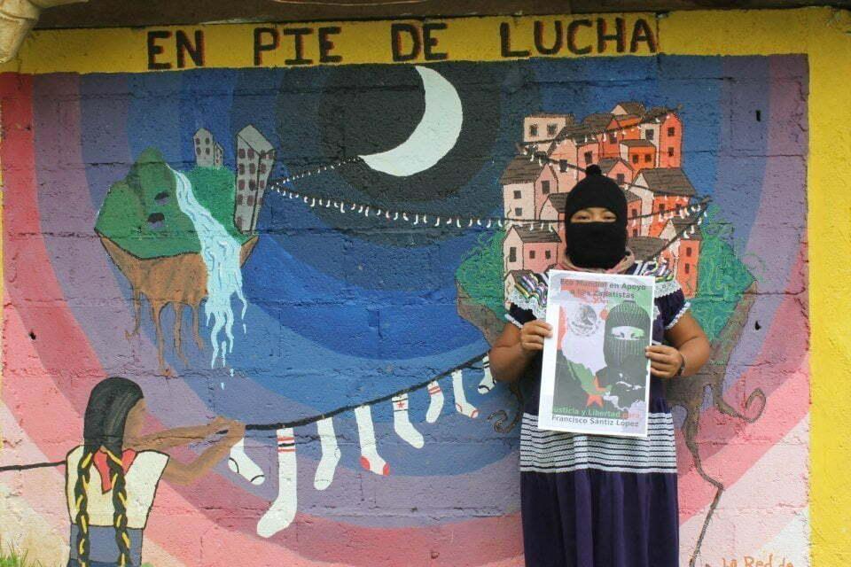 EZLN - Caracol Morelia - en pie de lucha