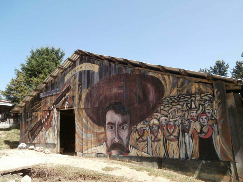 EZLN - Caracol Oventik - Emiliano Zapata
