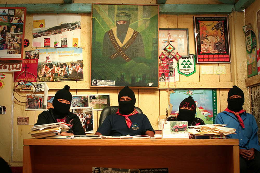 EZLN - Caracol Oventik - Good Government Board