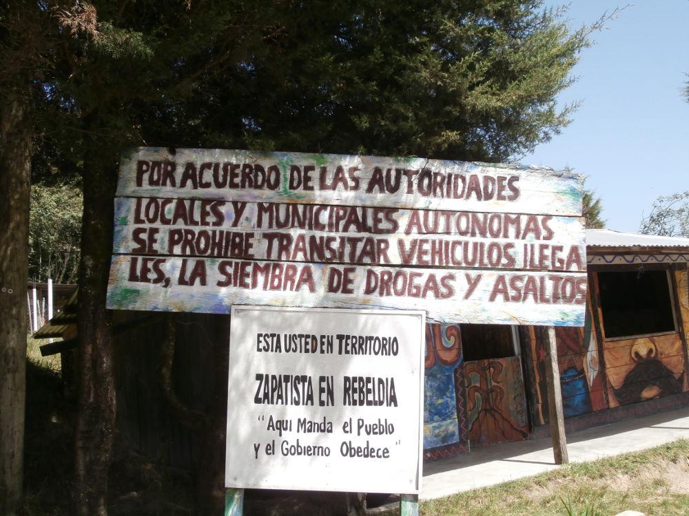 EZLN - Caracol Oventik - Territorio Zapatista en Rebeldia