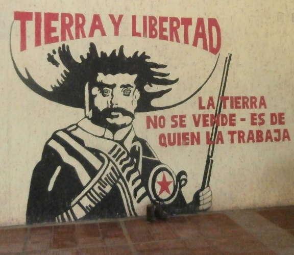 EZLN - basi d'appoggio - murales Zapata