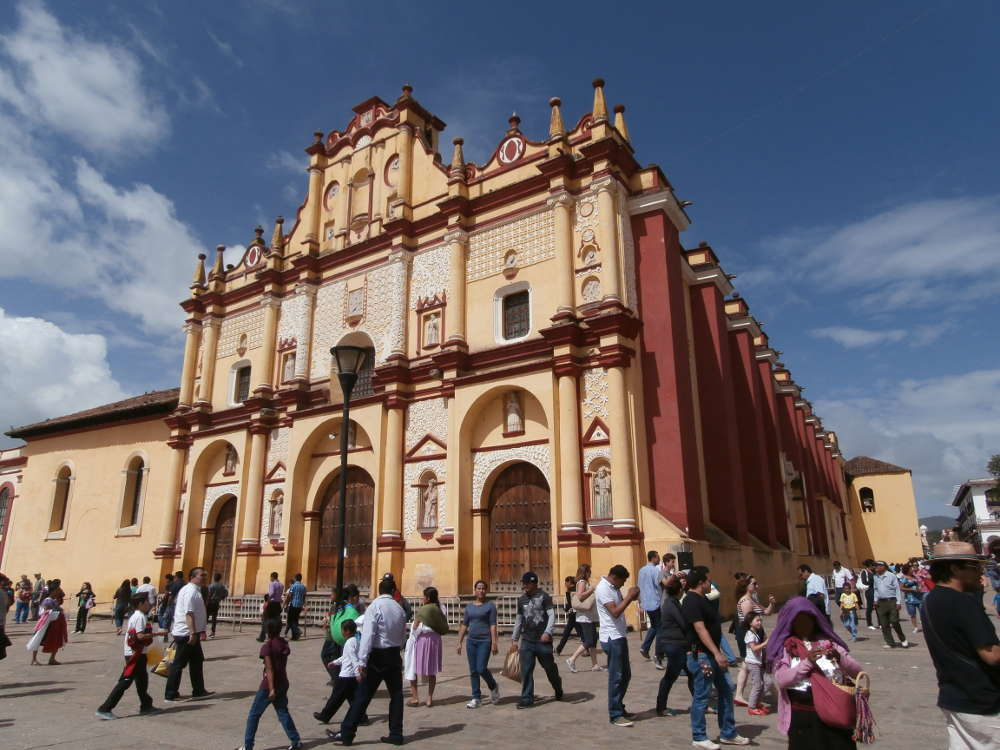 Messico - San Cristóbal de Las Casas - Catedral