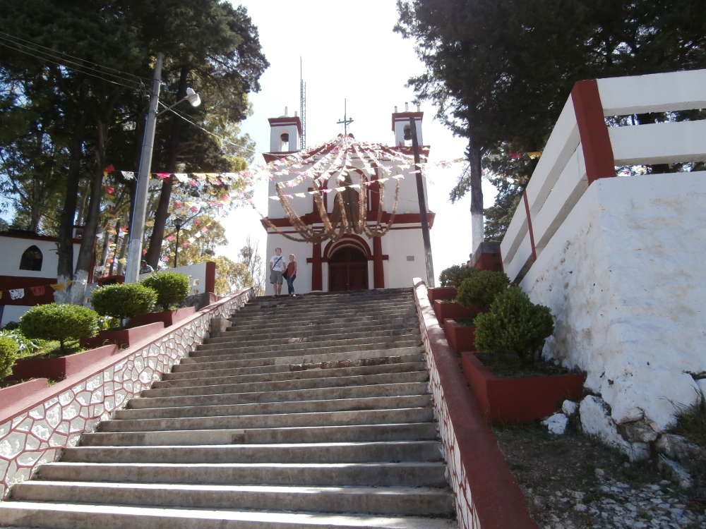 Messico - San Cristóbal de Las Casas - Iglesia del Cerrito