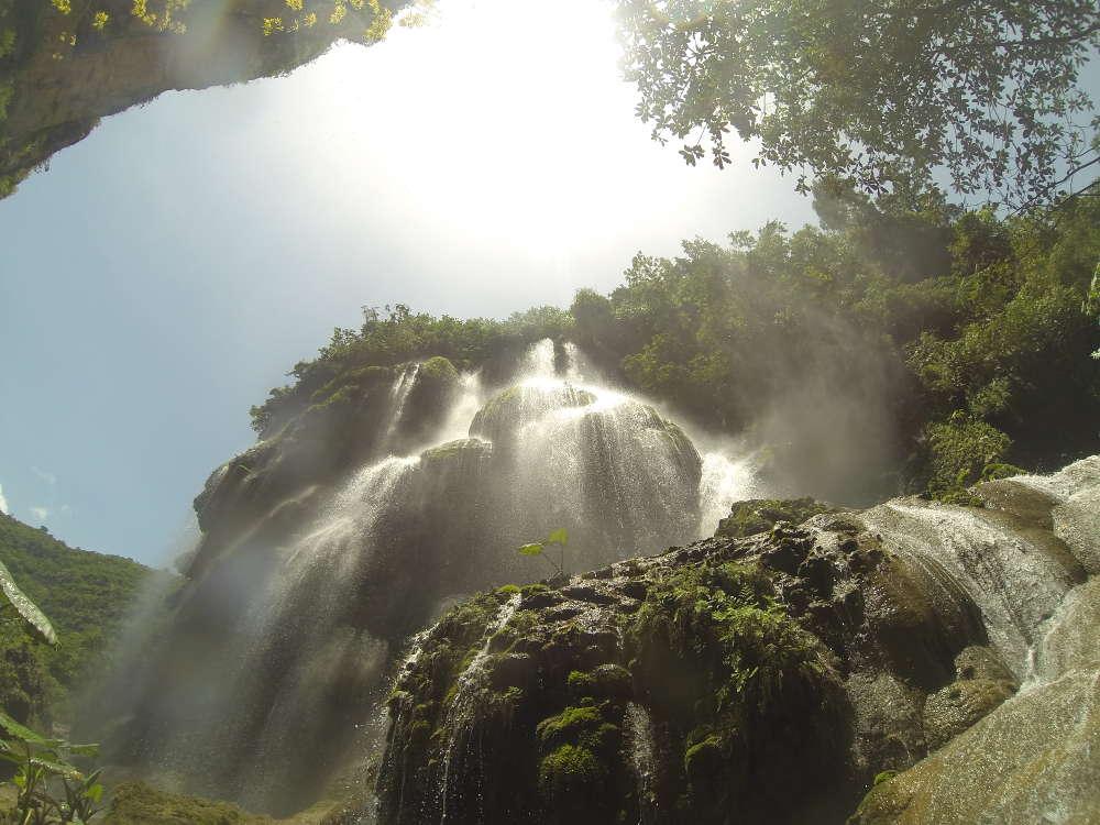 Chiapas, Messico: Cascata del Aguacero