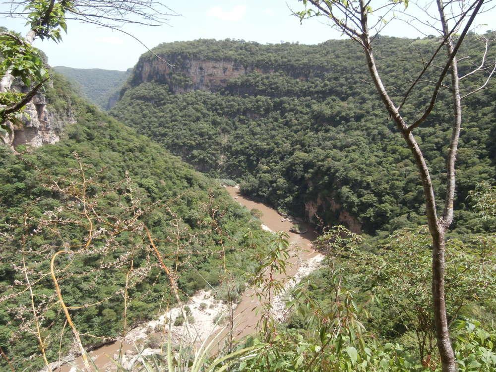 Chiapas, Messico: Canyon Rio La Venta