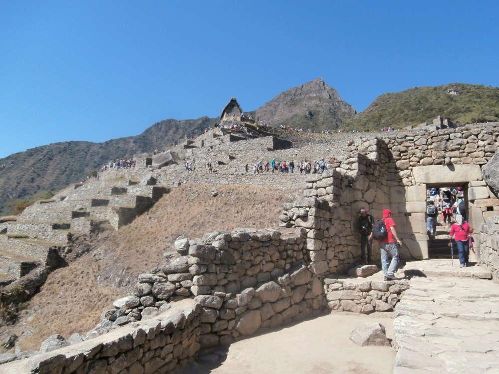 Peru - Machu Picchu - interno della città