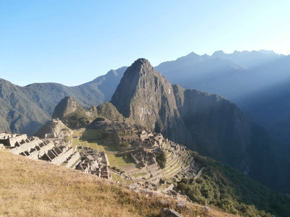 Peru - light in Machu Picchu