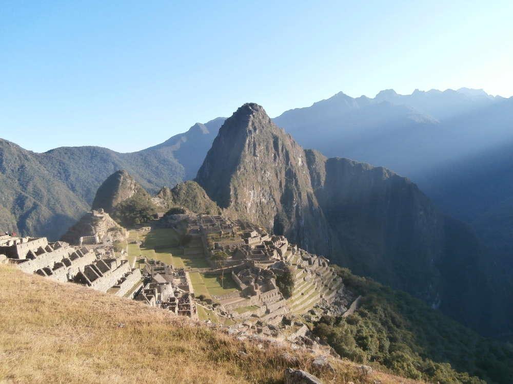 Peru - luce su Machu Picchu