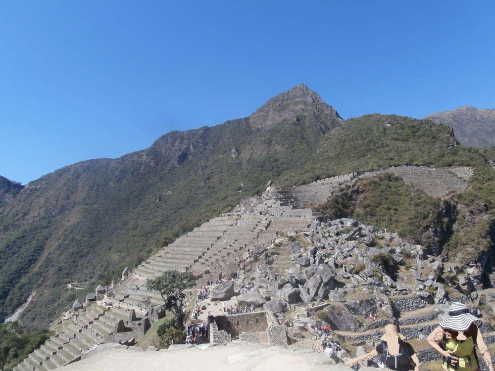 Peru - agricultural terraces Machu Picchu
