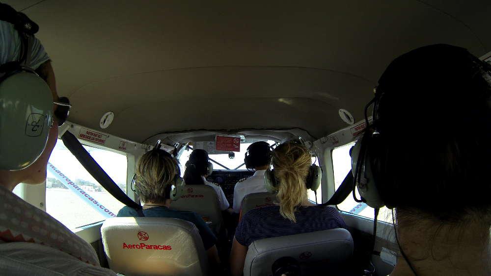 Peru - Nazca Lines - AeroParacas interior aircraft