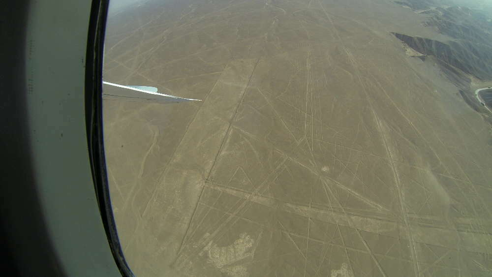 Peru - Nazca Lines - Spider from the plane