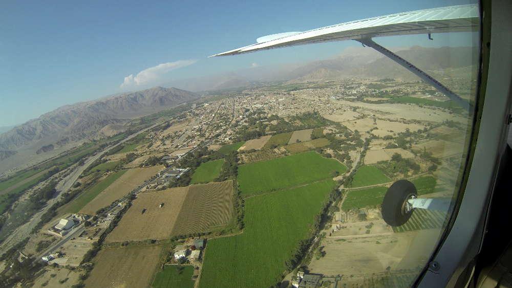 Peru - Nazca - agricultural land